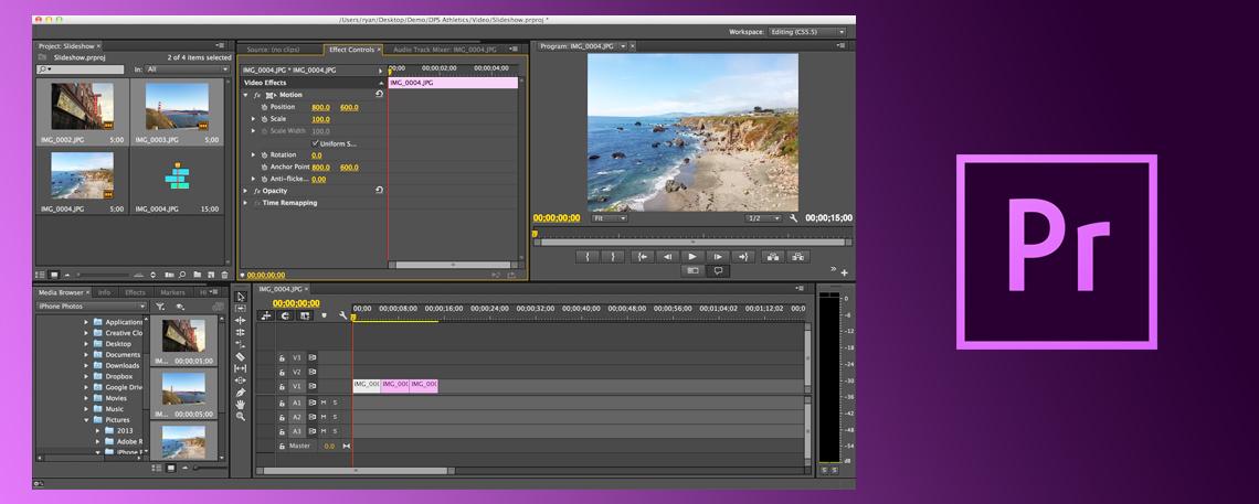 Adobe Premiere Pro - Edição de vídeo